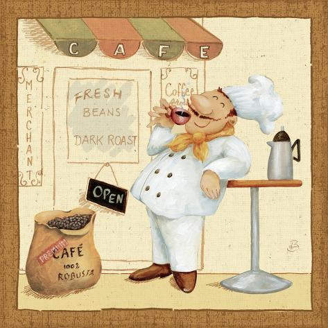 Chef's Market IV Art Print