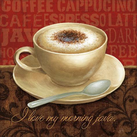 Coffee Talk I Art Print
