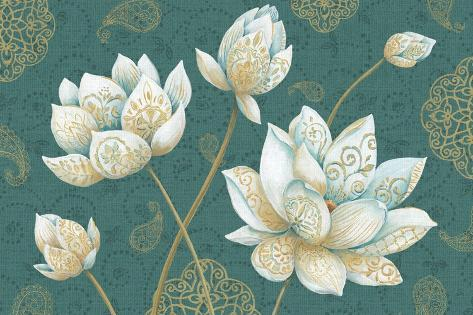 Lotus Dream IB Art Print