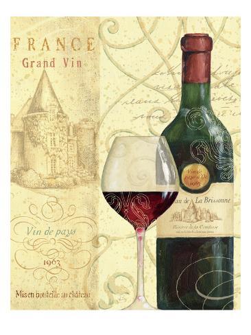 Wine Passion I Art Print
