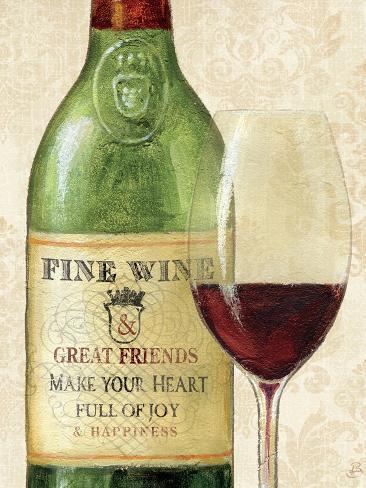 Wine Quotes I Art Print