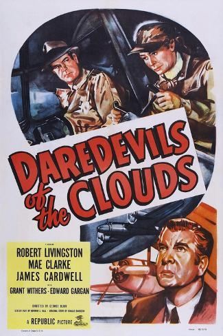 Daredevils of the Clouds Art Print