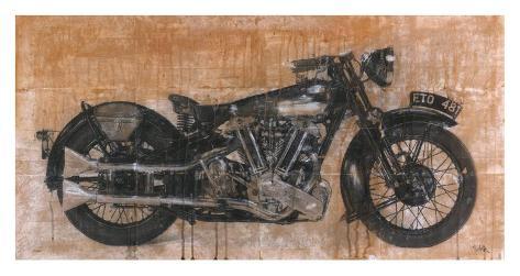 Brough Superior Art Print