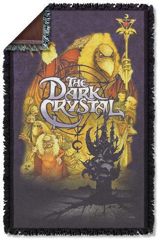 Dark Crystal - Poster Woven Throw Throw Blanket
