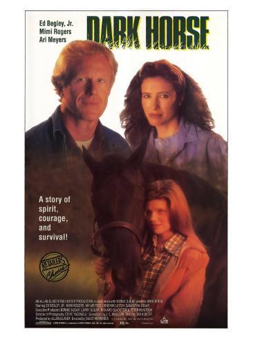 Dark Horse, 1992 Stretched Canvas Print