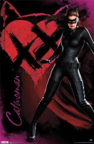 Dark Knight Rises - Catwoman Poster