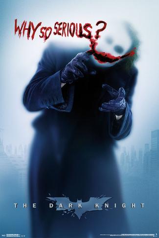 Dark Knight- Serious Teaser Poster