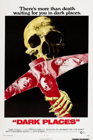 Dark Places Art Print