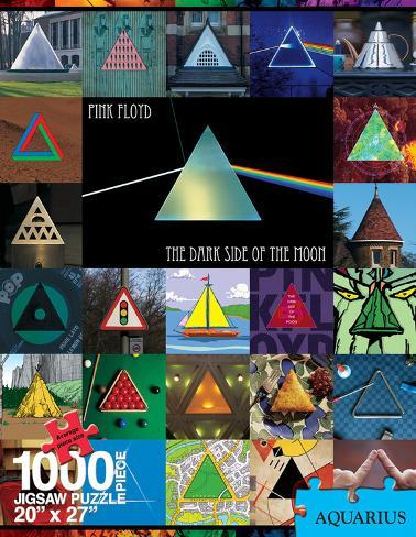 Dark Side of the Moon - Collage 1000 Piece Puzzle Jigsaw Puzzle
