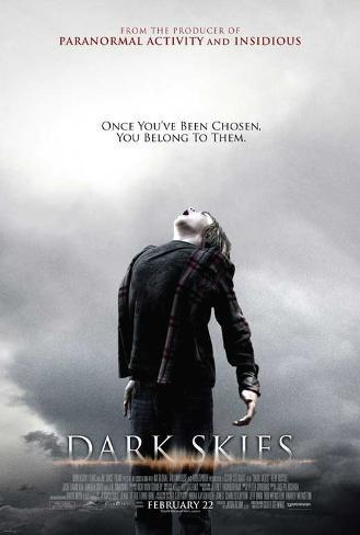 Dark Skies Movie Poster Masterprint