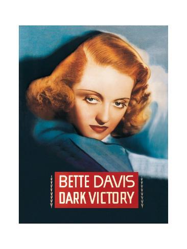 Dark Victory - Movie Poster Reproduction Stampa artistica