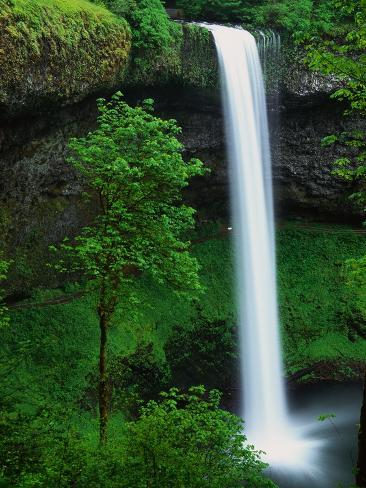 South Silver Falls Photographic Print