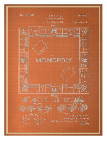 Darrow monopoly blueprint posters at allposters darrow monopoly blueprint malvernweather Choice Image