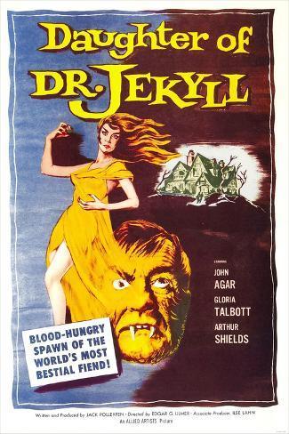 Daughter of Dr. Jekyll Art Print