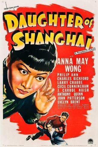 Daughter of Shanghai, Anna May Wong, Anthony Quinn, Philip Ahn, 1937 Art Print