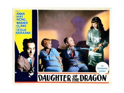 Daughter of the Dragon, 1931 Lámina giclée