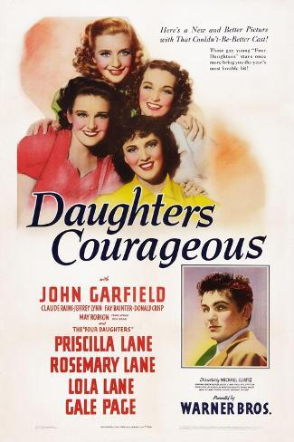 Daughters Courageous, 1939 Art Print