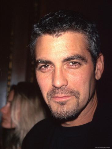 Actor George Clooney Premium Photographic Print