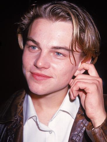 Actor Leonardo Dicaprio Premium Photographic Print