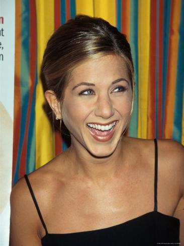 Actress Jennifer Aniston at Cosmopolitan Magazine Party Premium Photographic Print