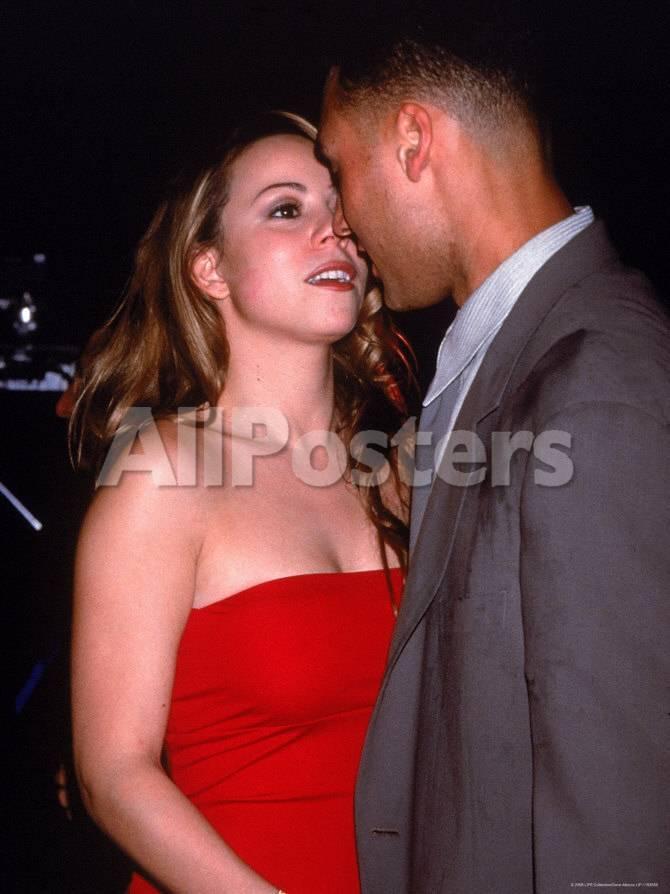 Mariah Carey With Boyfriend Baseball Player Derek Jeter At Rapper