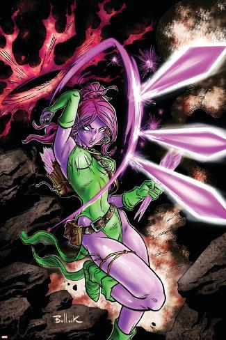 Exiles No.5 Cover: Blink Poster