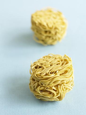 Two Noodle Nests Photographic Print