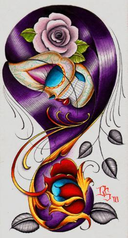 Violet Stretched Canvas Print