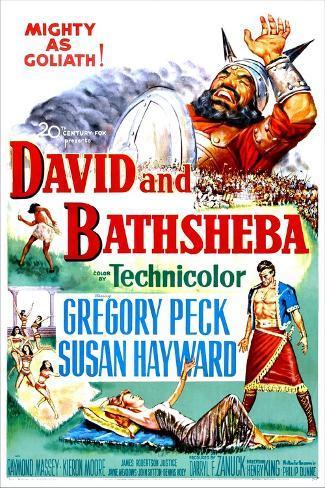 David and Bathsheba, 1951 Art Print