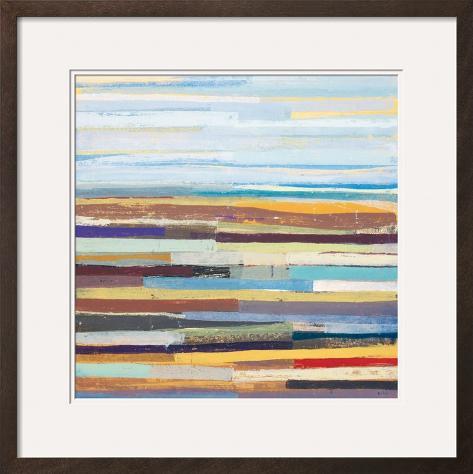 Landform II Framed Art Print