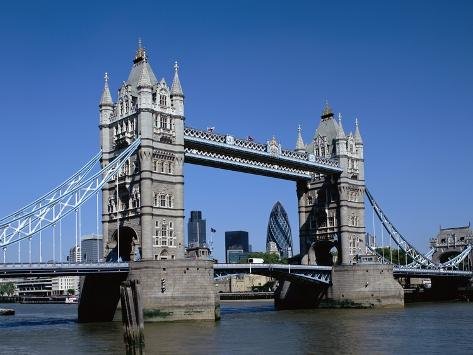 Tower Bridge in London Photographic Print