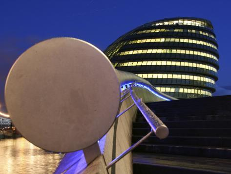 London, City Hall Designed by Architect Norman Foster, England Photographic Print