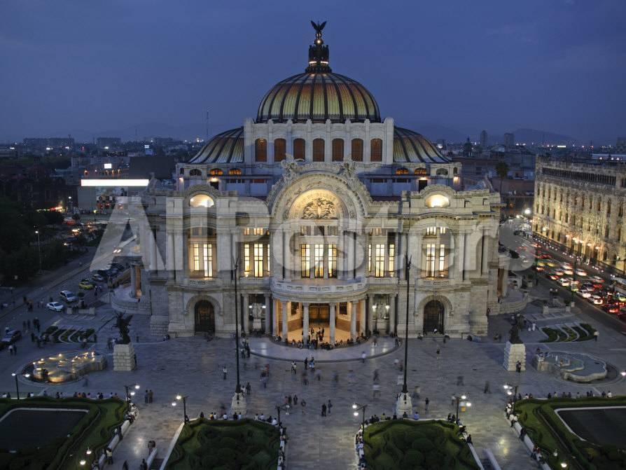 Mexico City, Palacio De Bellas Artes Is the Premier Opera House of ...