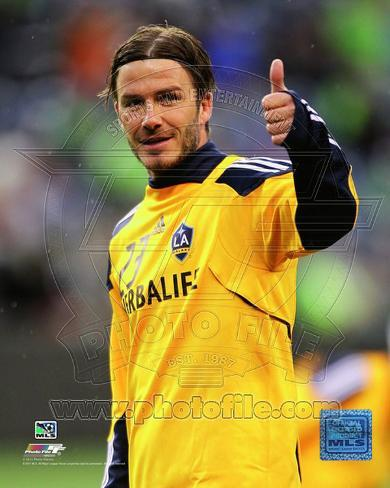 David Beckham 2011 Action Photo