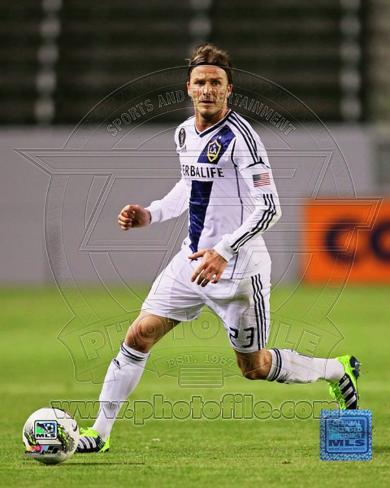 David Beckham 2012 Action Photo