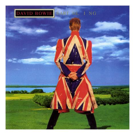 David Bowie - Earthiling Metal Print