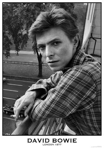 David Bowie- London 1977 Poster