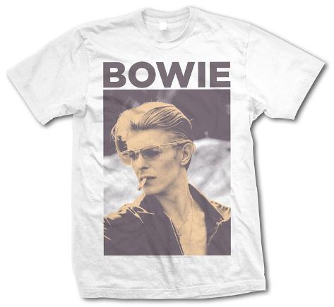 David Bowie - Smoking Tシャツ