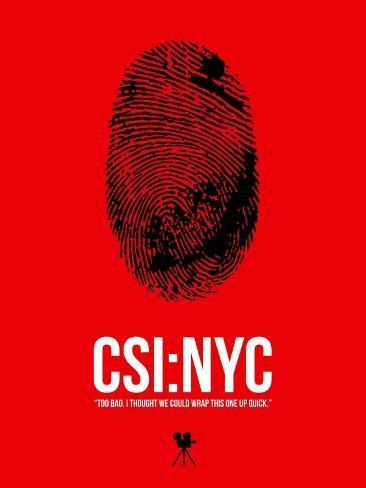 CSI Art Print