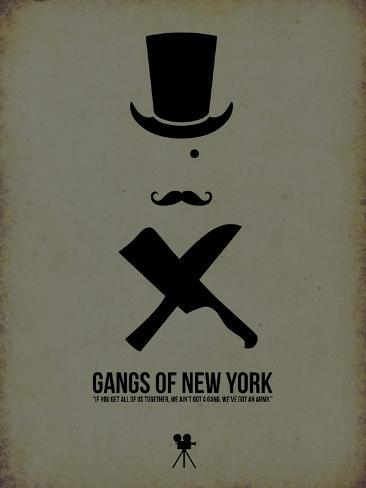 Gangs of New York Lámina