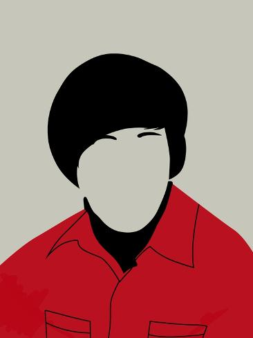 Howard Portrait Art Print