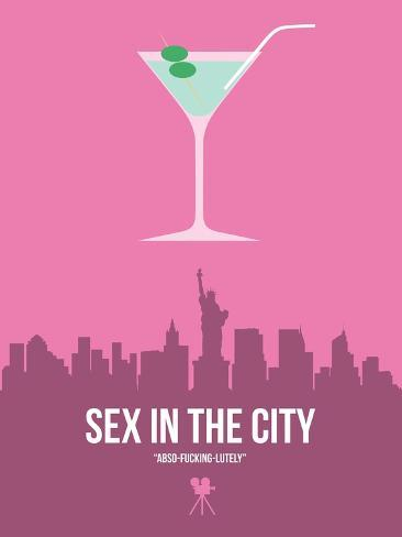 Sex and the City Stampa artistica