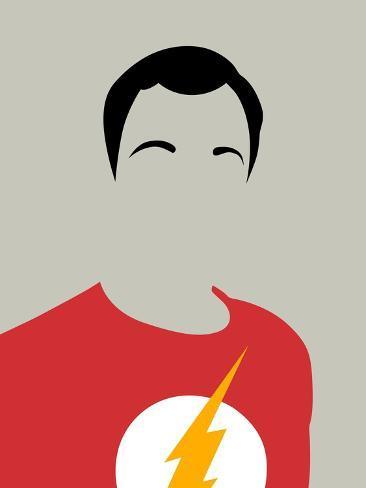 Sheldon Portrait Art Print