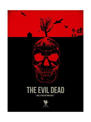 The Evil Dead Konstprint