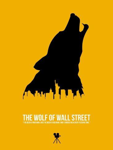 The Wolf of Wall Street Art Print