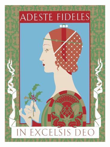 Adeste Fidelis Giclee Print