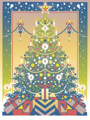 Christmas Tree Giclee Print