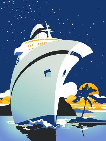 Cruise Cover Giclee Print
