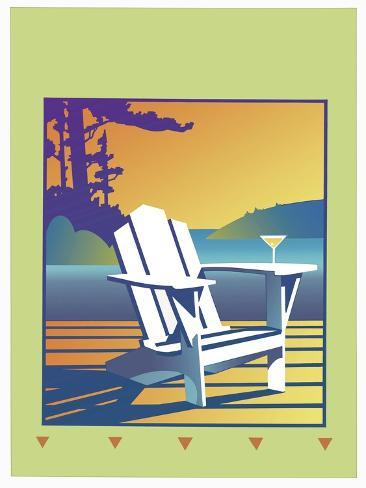 Muskoka Chair Giclee Print