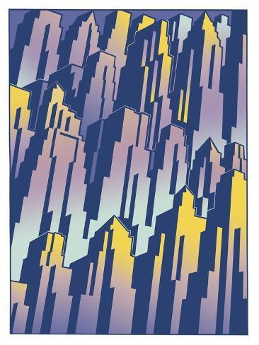 New Cityscape Grad Giclee Print